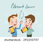 drawing flat character design...   Shutterstock .eps vector #292253747
