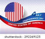 happy independence day of... | Shutterstock .eps vector #292269125
