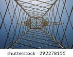 inside of a power pylon | Shutterstock . vector #292278155