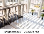 hall and entrance of modern... | Shutterstock . vector #292305755