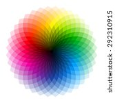 color wheel. vector.