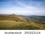 stunning landscape of chrome... | Shutterstock . vector #292322114