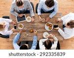 business  people  break and... | Shutterstock . vector #292335839