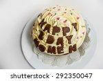 birthday cake | Shutterstock . vector #292350047