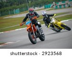 ride course of motorcycle | Shutterstock . vector #2923568