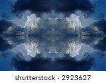 kaleidoscope sky | Shutterstock . vector #2923627
