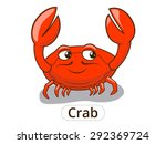 crab sea animal fish cartoon... | Shutterstock . vector #292369724