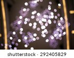 purple booked with yellow line... | Shutterstock . vector #292405829