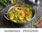 indian prawn curry | Shutterstock . vector #292422434