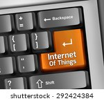 keyboard illustration with... | Shutterstock . vector #292424384