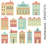 houses set | Shutterstock . vector #292427171