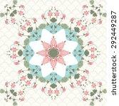 seamless background. vintage... | Shutterstock . vector #292449287