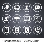 technology and modern... | Shutterstock .eps vector #292470884