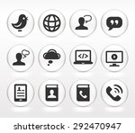 technology and modern... | Shutterstock .eps vector #292470947