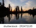 Picturesque Mountain Lake At...