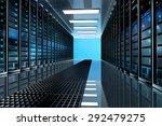 modern network and...   Shutterstock . vector #292479275