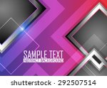 color abstract background | Shutterstock .eps vector #292507514