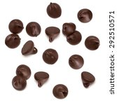 Chocolate Morsels Spread On...