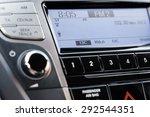 car stereo  car  radio. | Shutterstock . vector #292544351