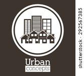 real estate digital design ...   Shutterstock .eps vector #292567385