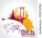 thailand vector   Shutterstock .eps vector #292576784