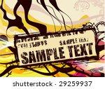 grunge poster | Shutterstock .eps vector #29259937