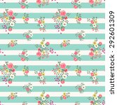 seamless floral ditsy pattern... | Shutterstock .eps vector #292601309