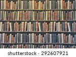 book shelf wallpaper in the... | Shutterstock . vector #292607921
