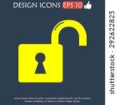 lock icon.