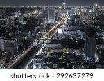 aerial view of bangkok at... | Shutterstock . vector #292637279