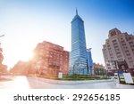 torre latinoamericana on juarez ...   Shutterstock . vector #292656185