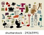 A Selection Of Objects With Th...