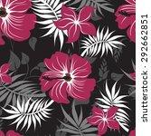 seamless vector floral pattern. ... | Shutterstock .eps vector #292662851