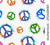 seamless vector pattern  ... | Shutterstock .eps vector #292668485