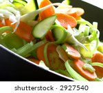 Freshly Chopped Vegetables