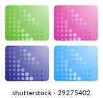 set of abstract backgrounds....   Shutterstock .eps vector #29275402