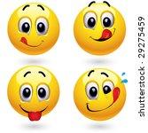 smiley balls in temptation of... | Shutterstock .eps vector #29275459