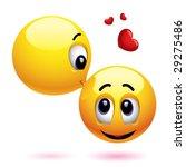 smiling balls love | Shutterstock .eps vector #29275486