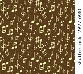 seamless pattern with music... | Shutterstock . vector #29275930