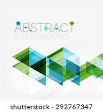 abstract geometric background.... | Shutterstock .eps vector #292767347