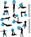 Woman Pilates Workout...