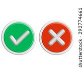 flat design check marks icons....