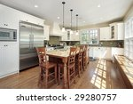 kitchen in luxury home with... | Shutterstock . vector #29280757