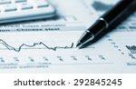 financial analysis concept | Shutterstock . vector #292845245