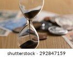 money  hourglass | Shutterstock . vector #292847159