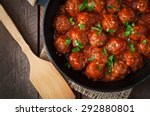 Meatballs In Sweet And Sour...