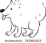 join to the dots | Shutterstock .eps vector #292881815
