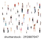 together we stand corporate... | Shutterstock . vector #292887047