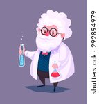 funny  illustration of... | Shutterstock .eps vector #292894979