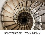 spiral staircases architectural ... | Shutterstock . vector #292913429